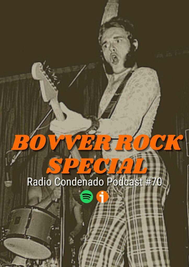 Cartel del podcast de Radio Condenado #70 | Skins, suedes, smooths, bootboys & bovver rock