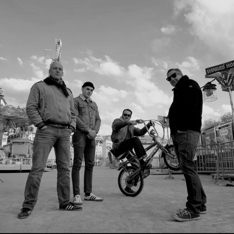 Revanche: Hard hitting Oi! with french lyrics