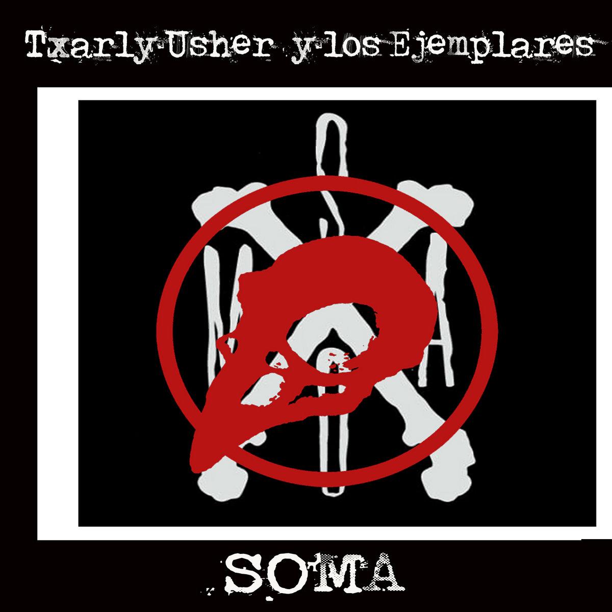 Portada de 'SOMA', nuevo EP de Txarly Userh y los Ejemplares (2021)