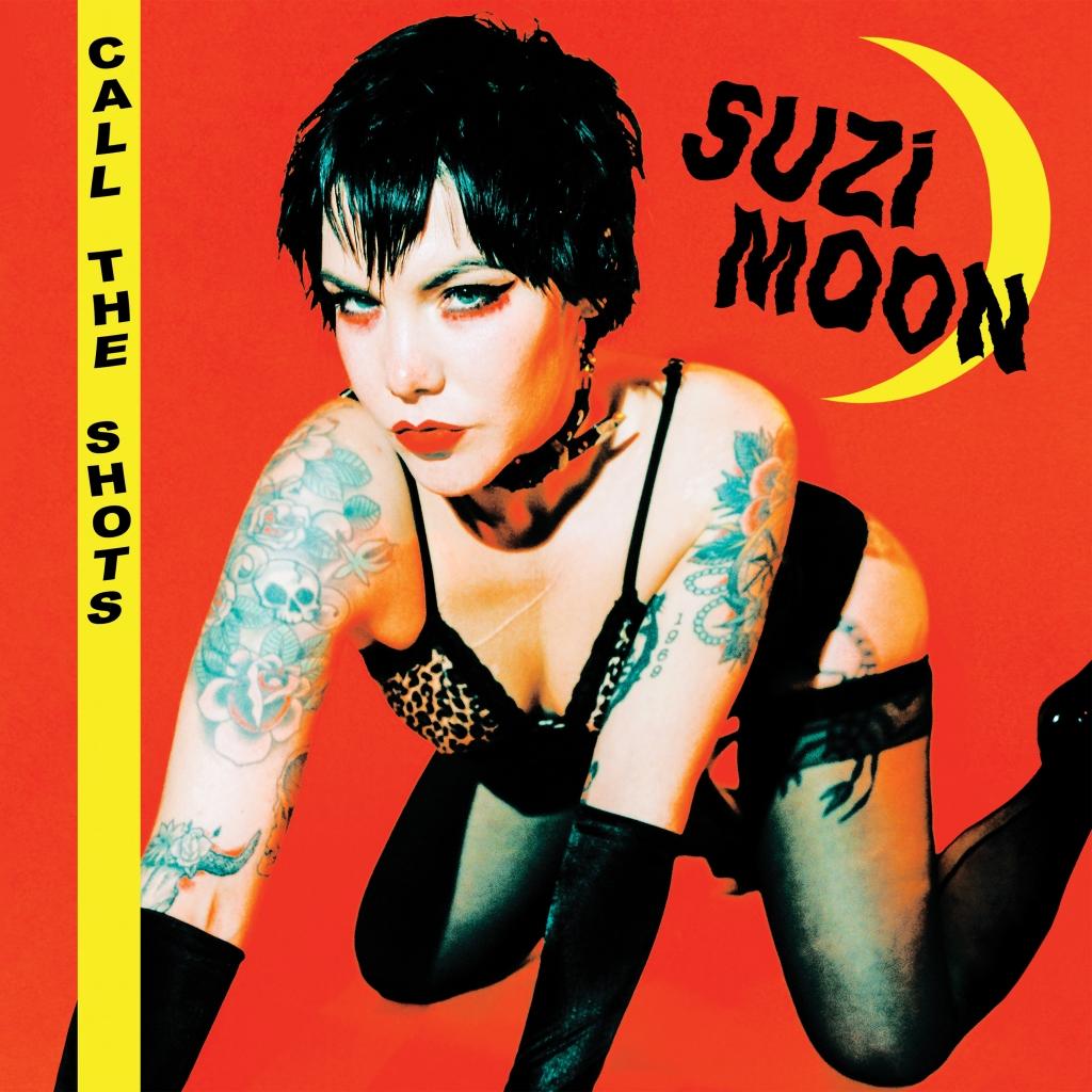 """Portada del 7"""" EP 'Call the Shots' de Suzi Moon que publica Pirates Press Records (21 de mayo de 2021)"""