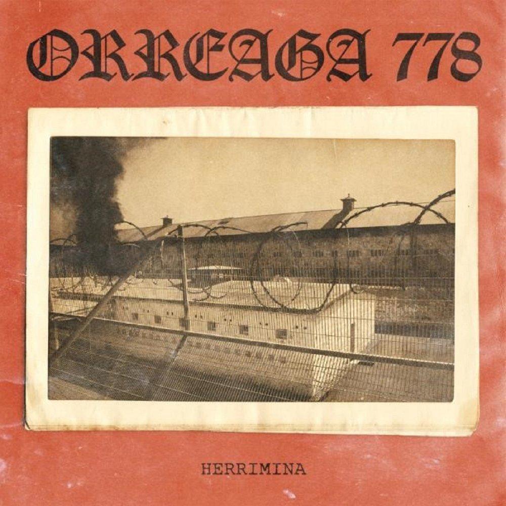 Portada de 'Herrimina' de Orreaga 778, disco que será editado en 2021 por Common People Records, The Firm Records, Cementerio Records y LSM Vinyl