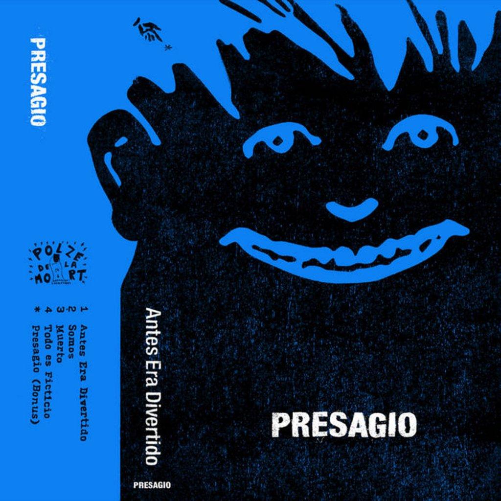 'Antes Era Divertido' de Presagio, editado en cassette por Polze de la Mort (2021)