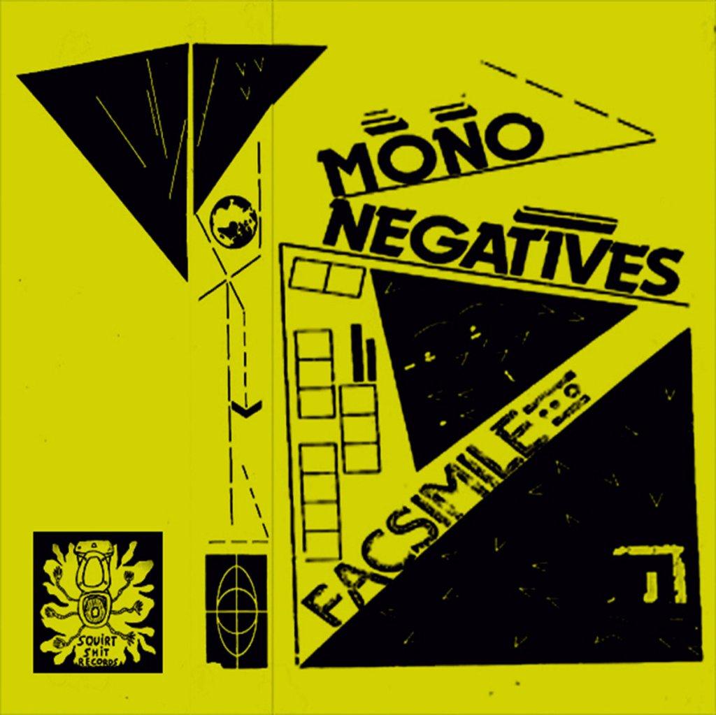 Portada de ' Facsimile' EP de Mononegatives, editado en 2021 por Squirt Shit Records