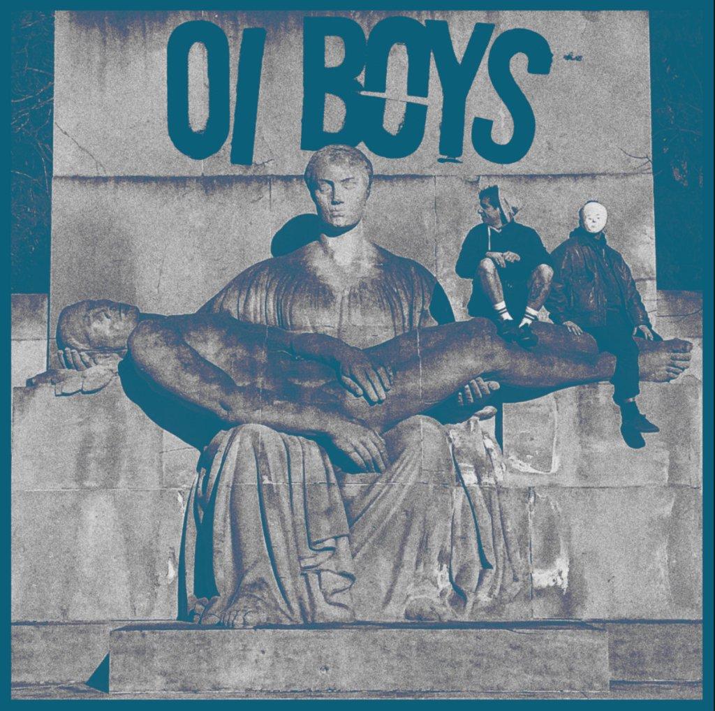 Portada del disco homónimo de Oi Boys (2021)