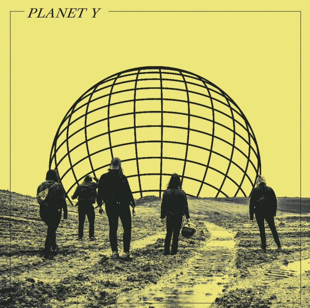 Portada del disco 'En plads i solen' de Planet Y que será editado por Adult Crash en 2021