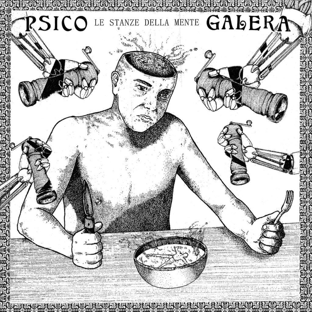 Portada de 'Le Stanze Della Mente' (Beach Impediment Records / Static Age Musik, 2021) de Pisco Galera
