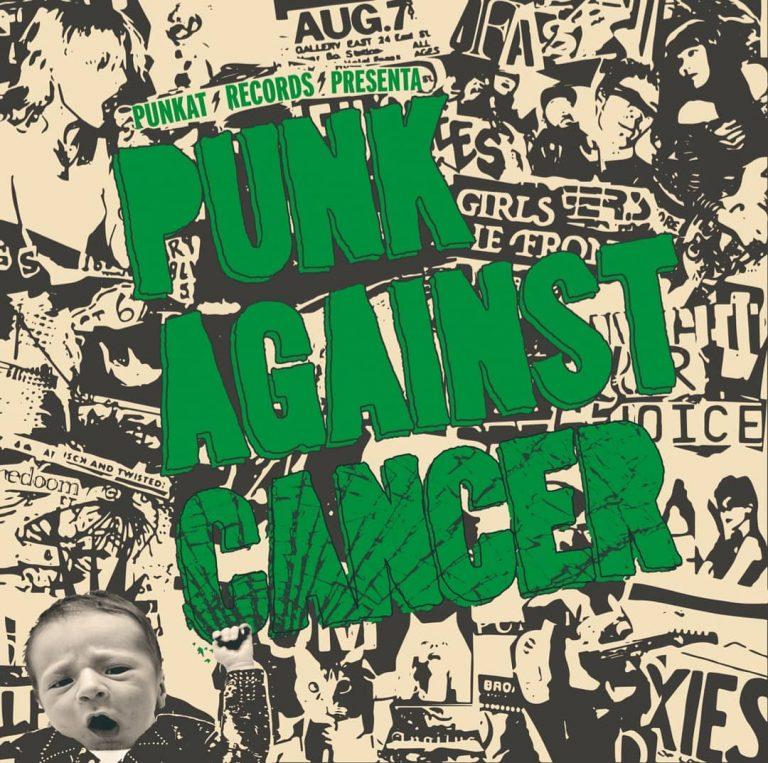 Portada del disco Punk Against Cancer (Punkat Records, 2021)