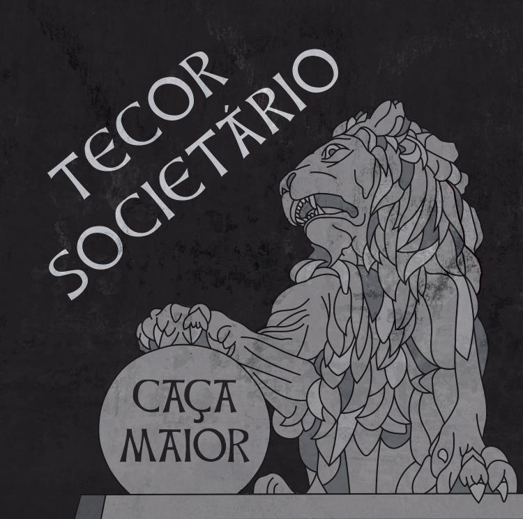 Portada de 'Caça Maior' (2021), nuevo disco de Tecor Societario