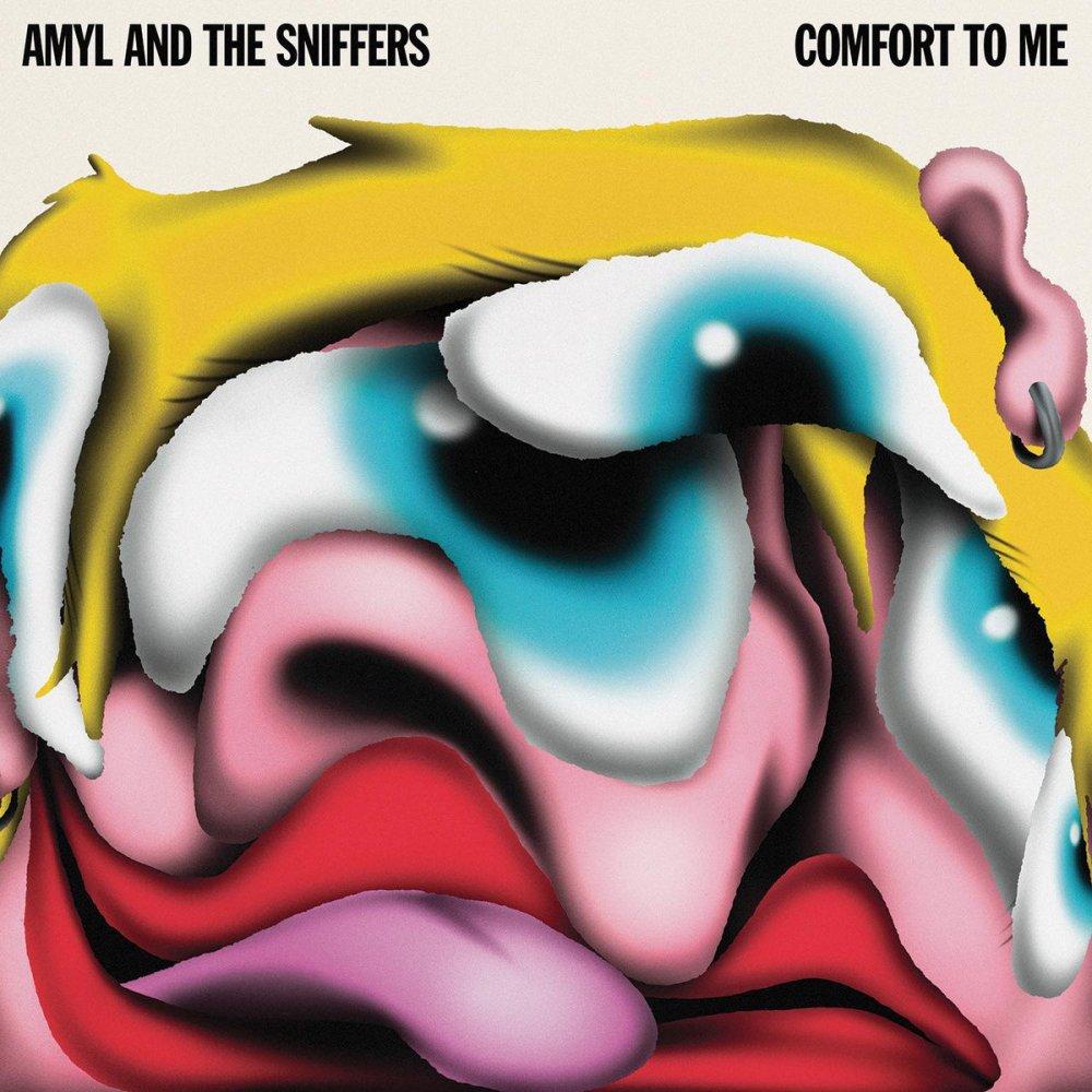 Portada de 'Comfort To Me' (2021), nuevo disco de Amyl & The Sniffers