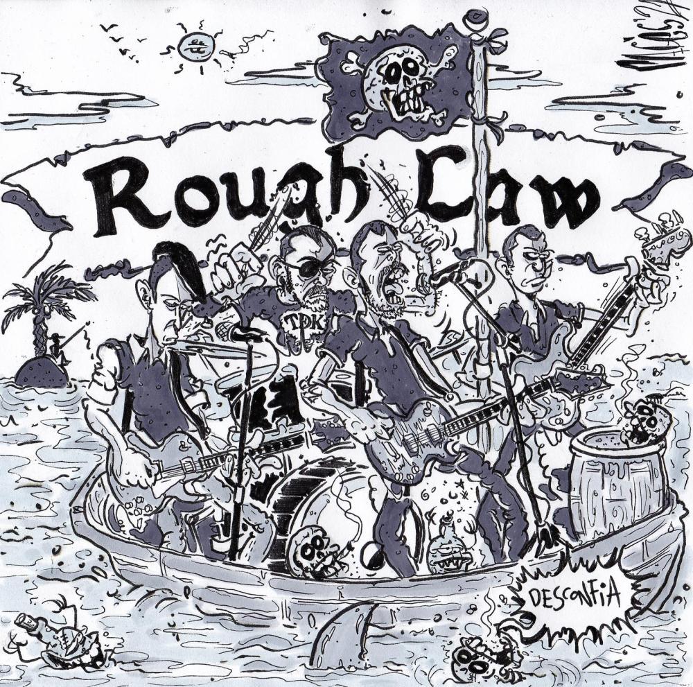 Portada del disco 'Desconfía' de Rough Law (2021)