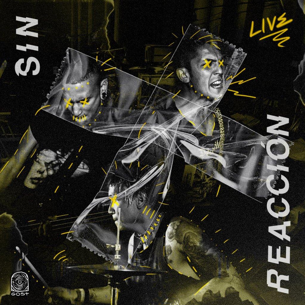 Portada de 'Live Session' (2021) de Sin Reacción