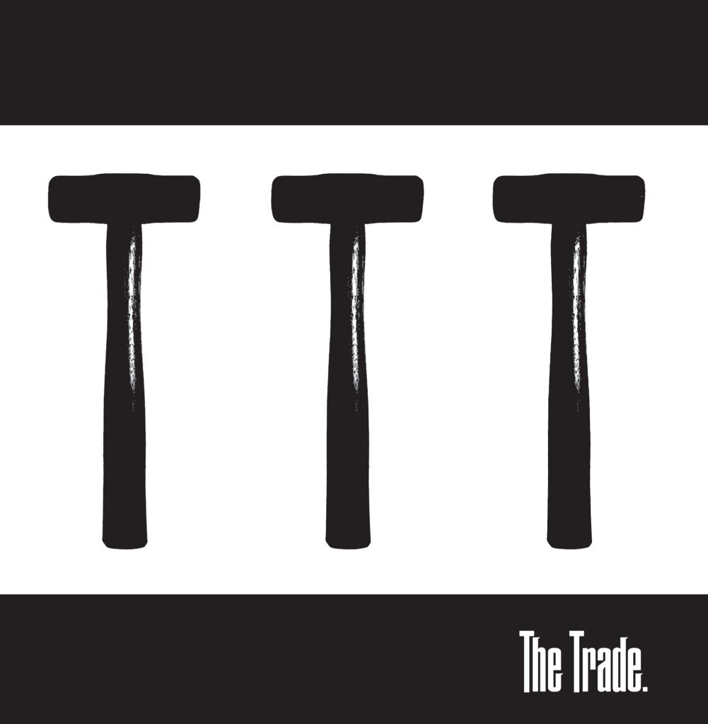 "Portada del 7"" de debut de The Trade (Rebellion Records, 2021)"