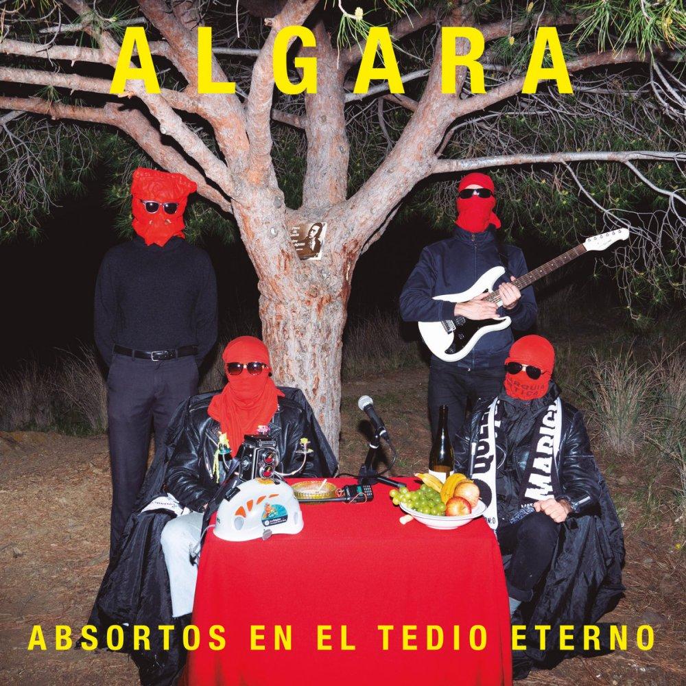 Portada de 'Absortos en el tedio eterno' de Algara (La Vida Es Un Mus, 2021)