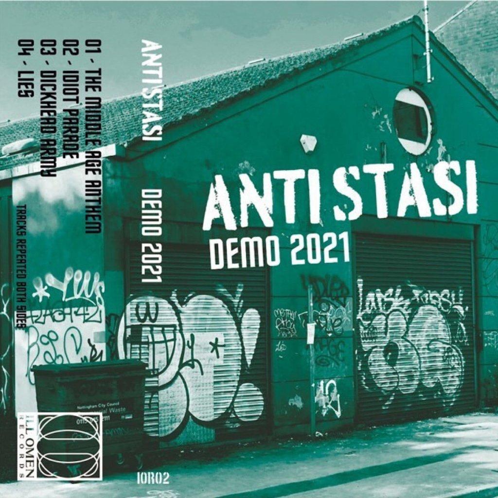 Portada de 'Demo 2021' de Anti Stasi, editada por Ill Oman Records