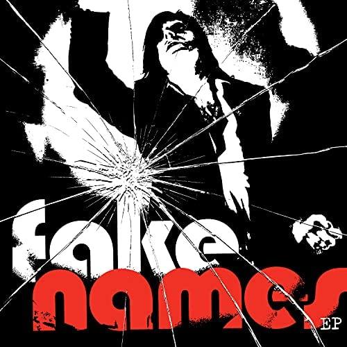 Portada de 'Fake Names EP' (Epitaph Records, 2021)' de Fake Names