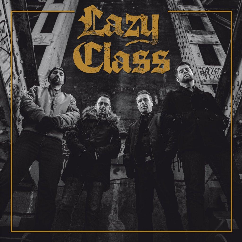Portada del disco 's/t' de Lazy Class (2021)