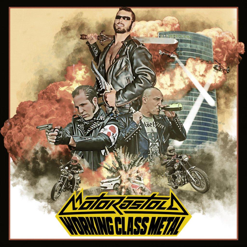 Portada de 'Working Class Metal' de Motorastola (2021)