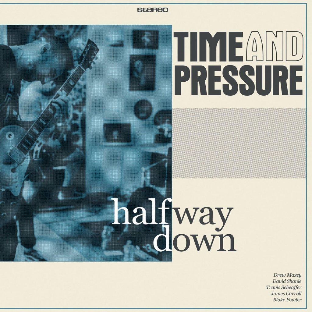 Portada de 'Halfway Down' de Time and Pressure, disco editado por Safe Inside Records en 2021