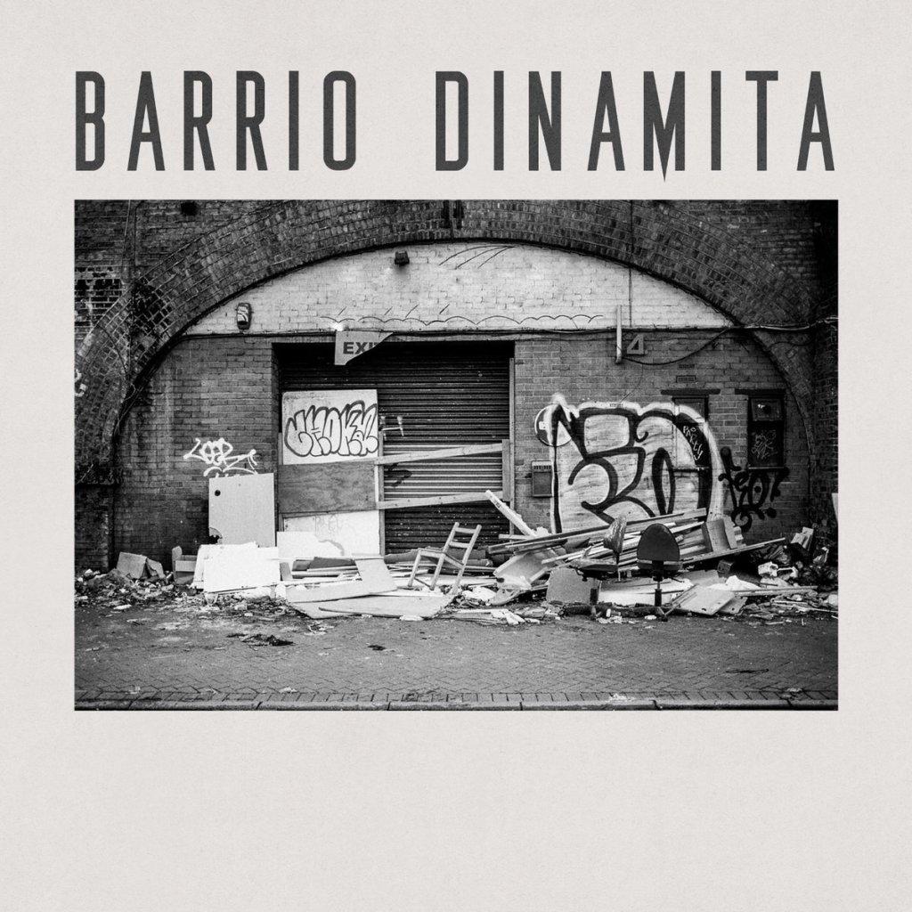 Portada del EP de debut de Barrio Dinamita (2021)