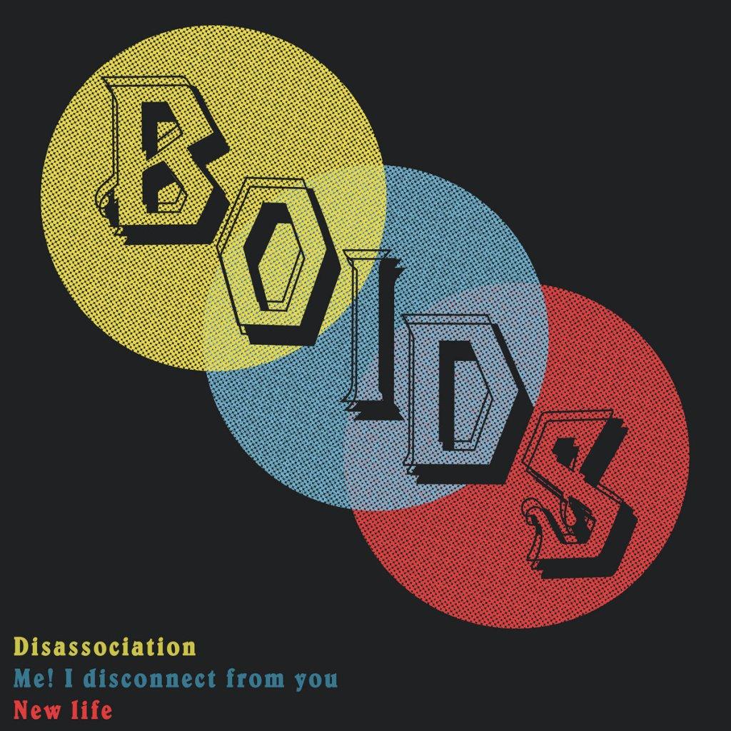Portada de 'Disassociation EP' de Boids (2021)