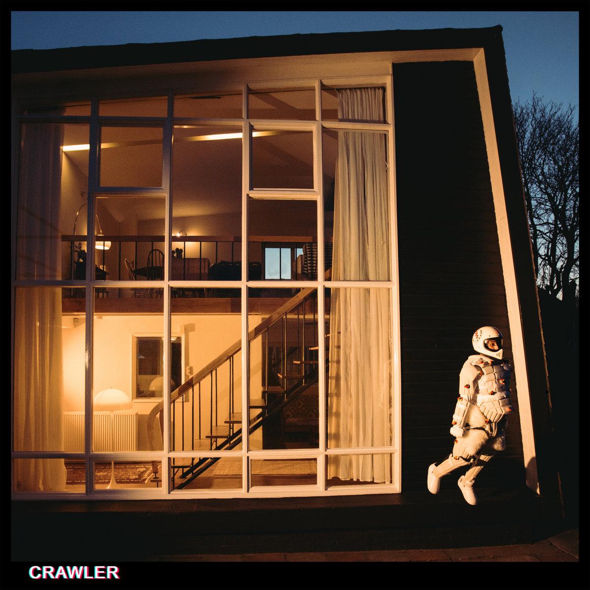 Portada del disco 'Crawler' de Idles (2021)