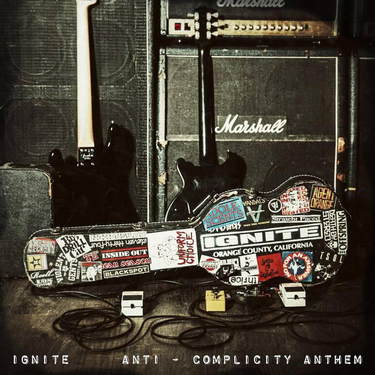 Portada de Anti-Complicity Anthem EP de Ignite (2021)
