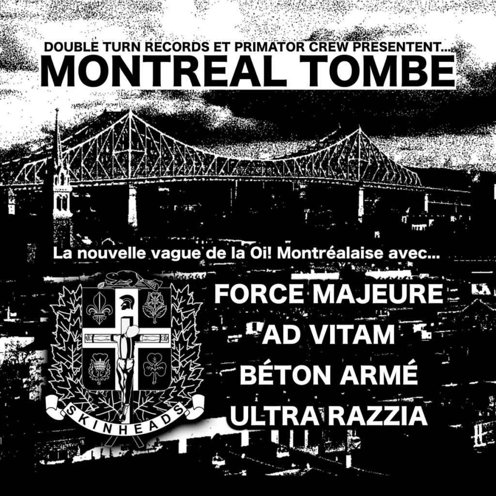 Portada de VV.AA. 'Montreal Tombe' (Primator Crew, 2021)
