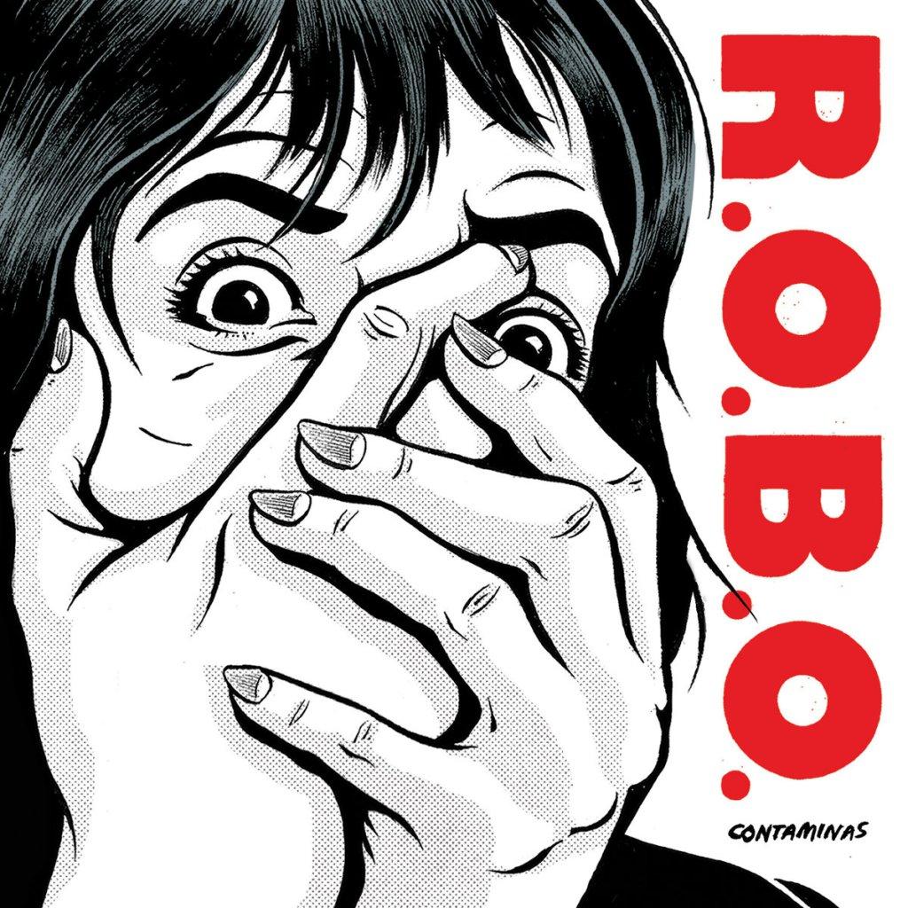 Portada del EP 'Contaminas' de R.O.B.O. (2021)