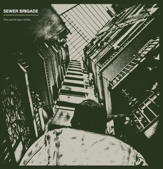 Portada del disco 'Fins que tot sigui cendra' de Sewer Brigade (2021)