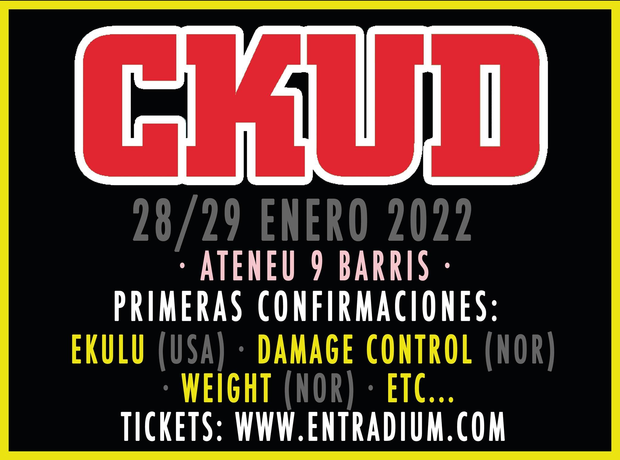 Primeras confirmaciones para el CKUD 2022