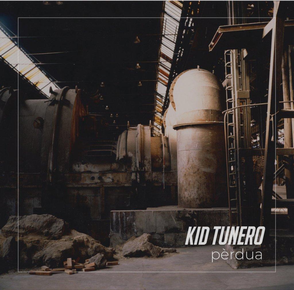 Portada de 'Pèrdua' de Kid Tunero (2021)