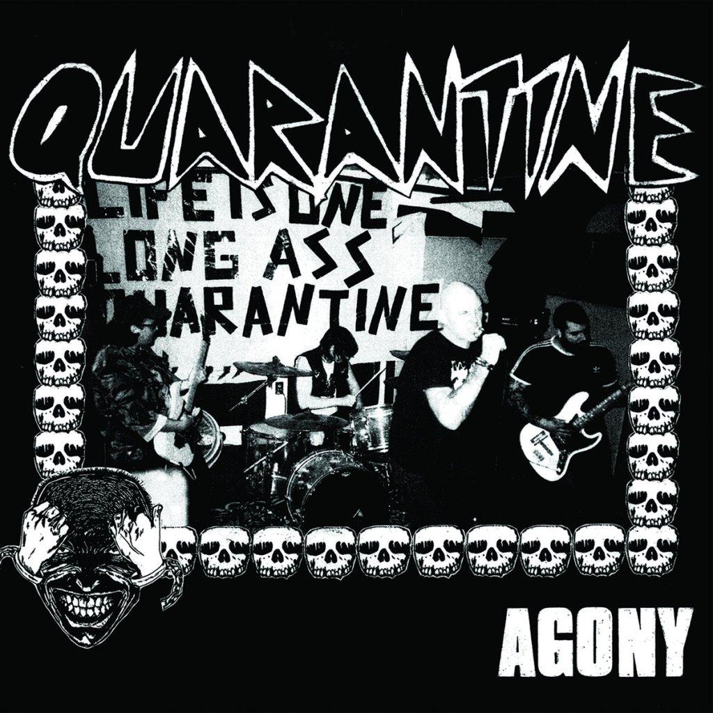 Portada de 'Agony' de Quarantine (2021)
