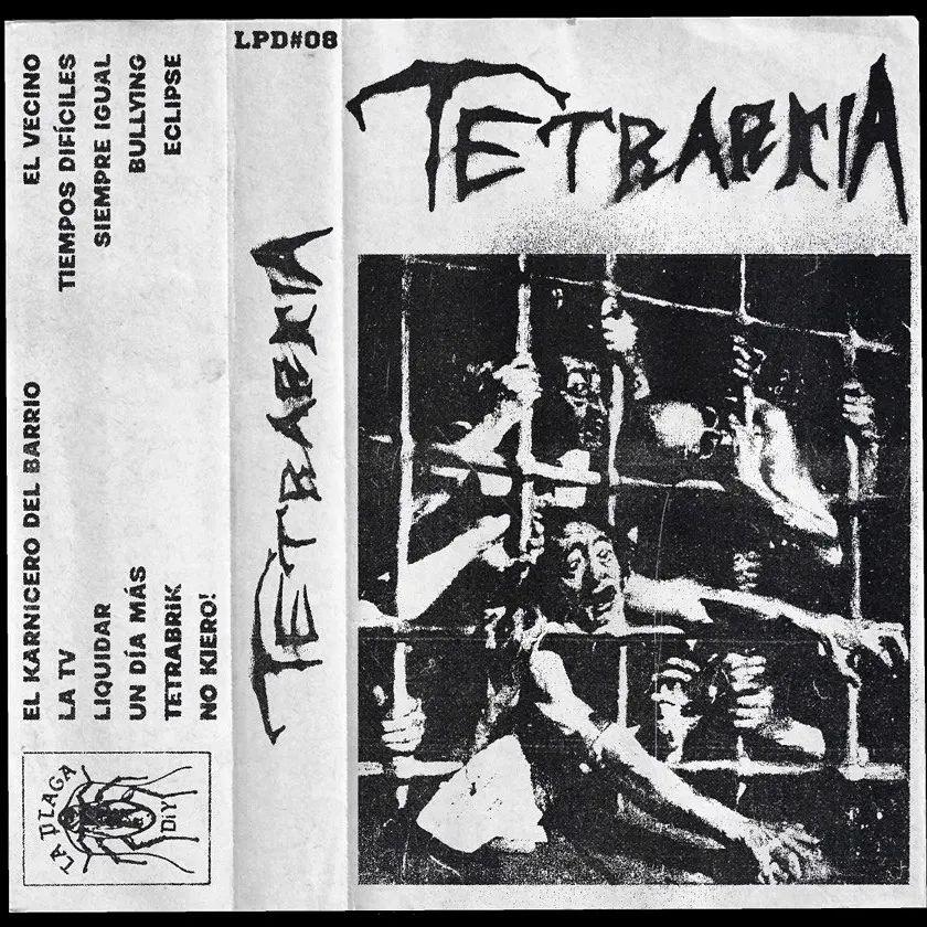 Portada de la cassette de Tetrarkia (2021)