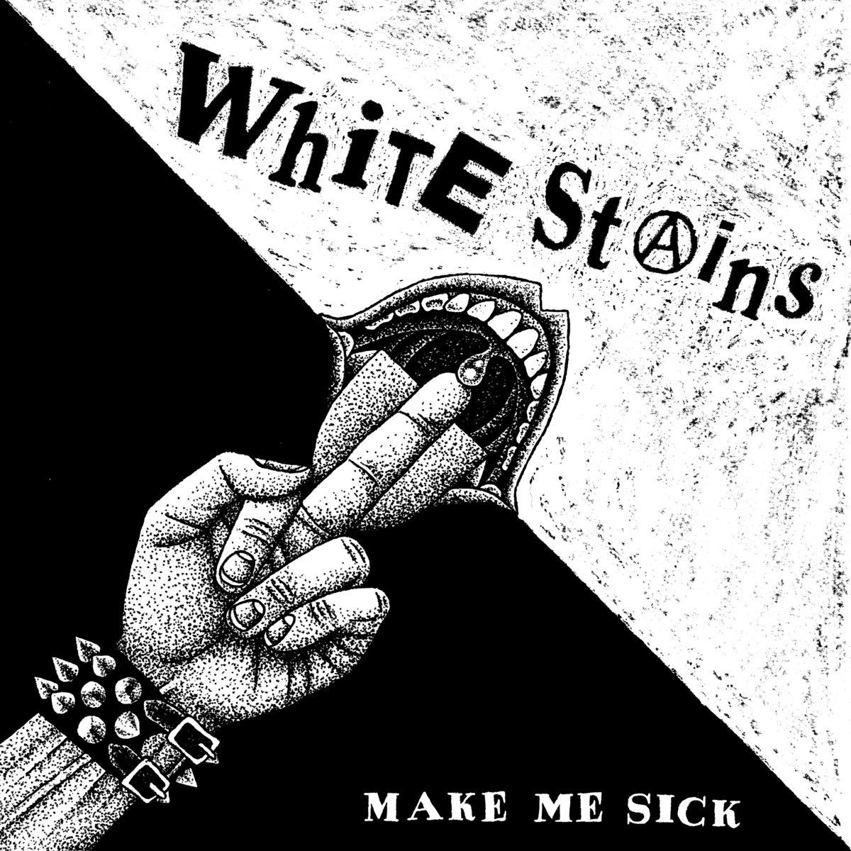 Portada del disco 'Make Me Sick' de White Stains (2021)